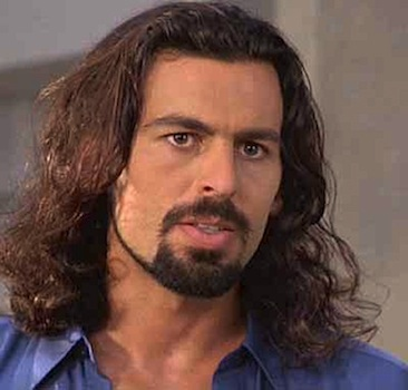Oded Fehr Long Brown Shoulder Length Hairstyle And